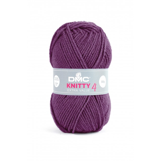 Lana acrílica DMC Knitty 4 Just Knitting 50 g 701