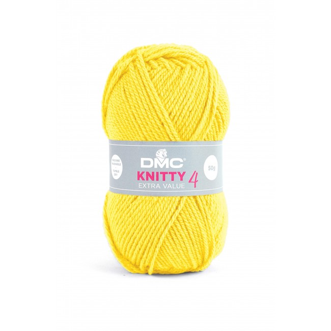Lana acrílica DMC Knitty 4 Just Knitting 50 g 819