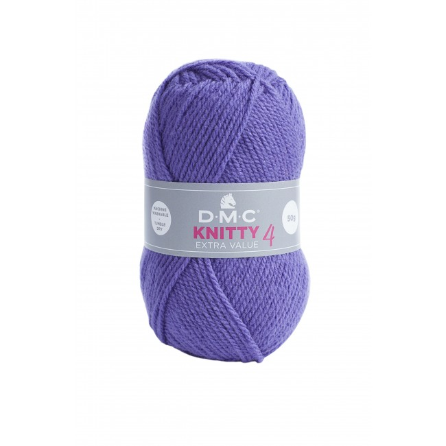 Lana acrílica DMC Knitty 4 Just Knitting 50 g 884