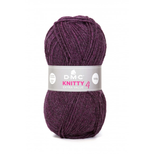 Lana acrílica DMC Knitty 4 Just Knitting 50 g 906