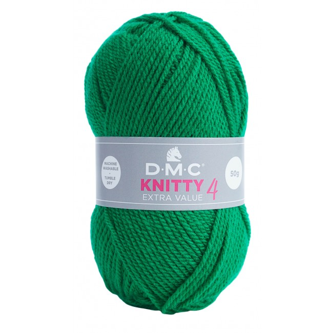 Lana acrílica DMC Knitty 4 Just Knitting 50 g 916