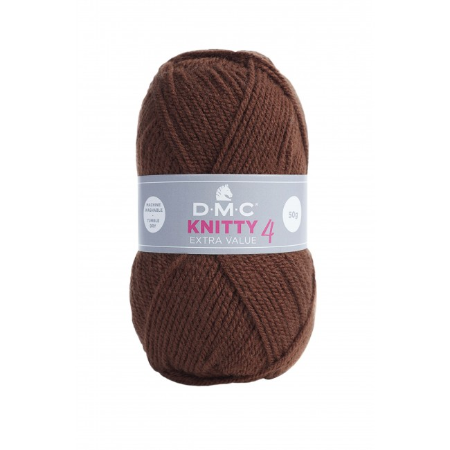 Lana acrílica DMC Knitty 4 Just Knitting 50 g 947