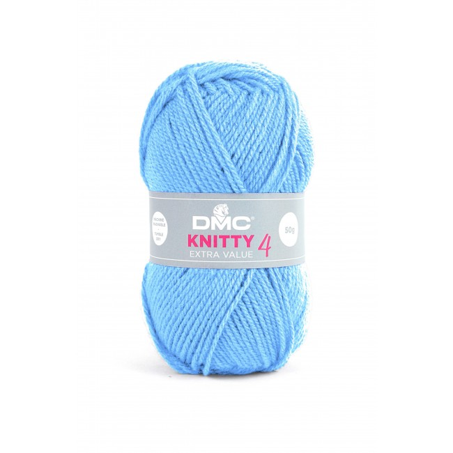 Lana acrílica DMC Knitty 4 Just Knitting 50 g 960
