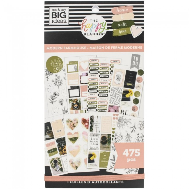 Libro de pegatinas Value Pack Modern Farmhouse