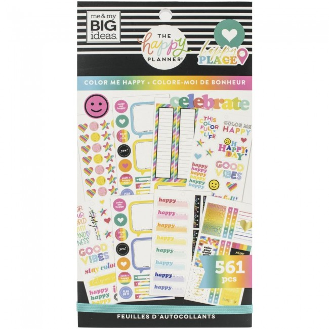 Libro de pegatinas Value Pack Color Me Happy