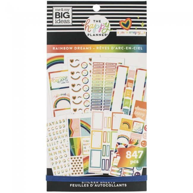 Libro de pegatinas Value Pack  Rainbow Dreams