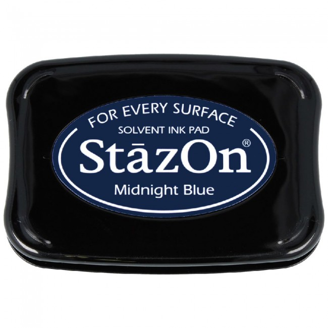 Tinta StazOn Midnight Blue