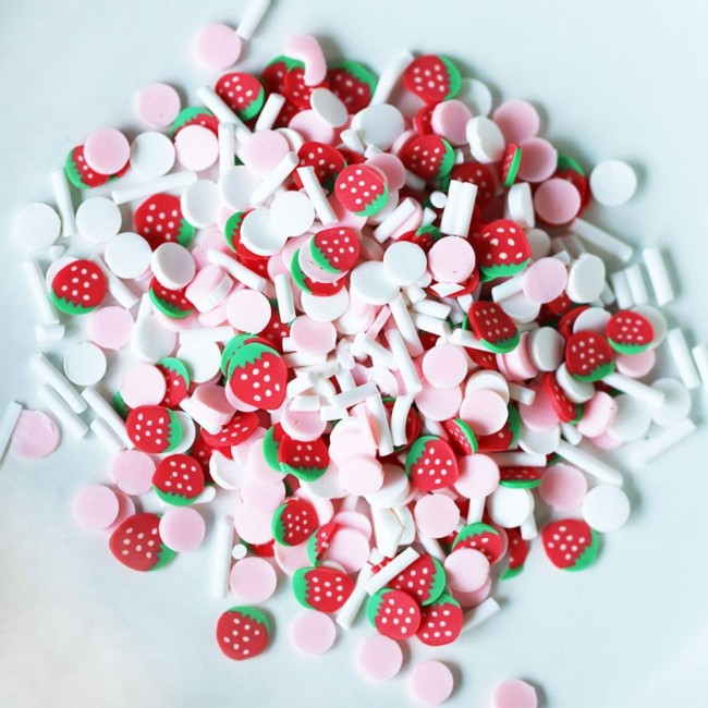 Mix para Shaker Strawberry Confetti Mix