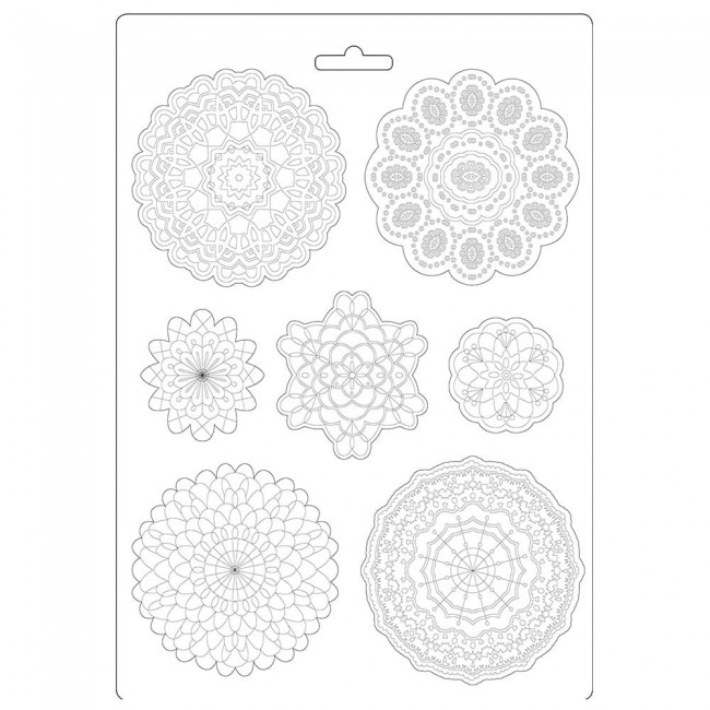 Molde A4 Passion Round lace