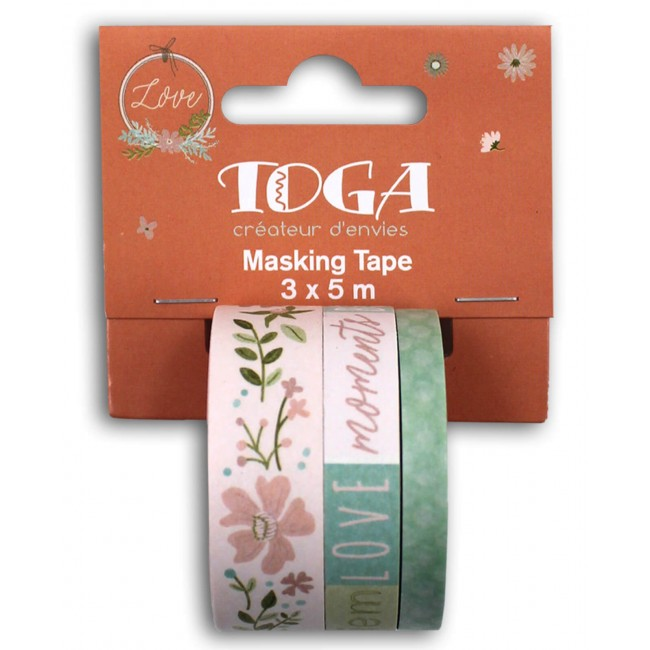 Set de Washi Tape Maison de Campagne
