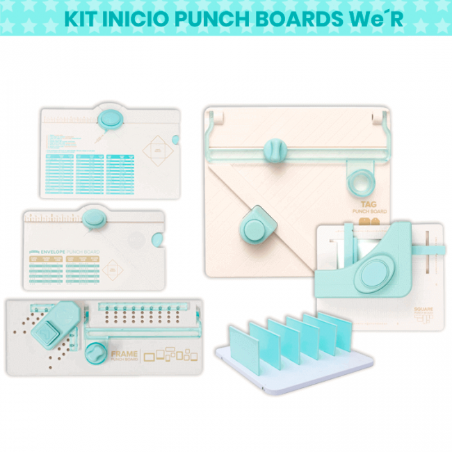 Kit Inicio Punch Boards We R Memory Keepers
