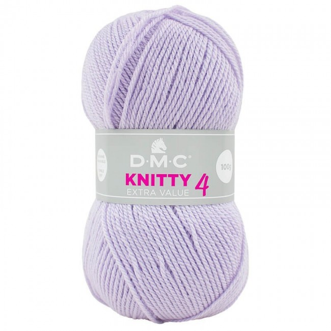 Lana acrílica DMC Knitty 4 Just Knitting 100 g 850