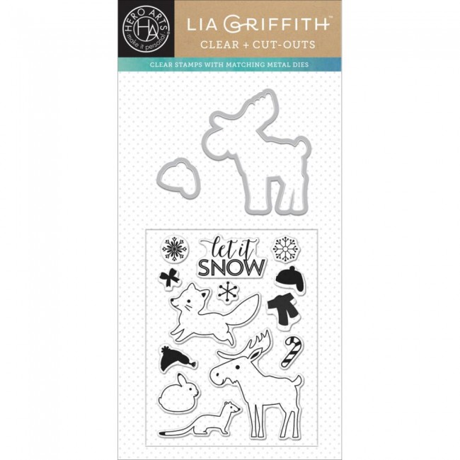 Stamps & Cuts Woodland by Lia