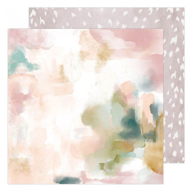 Papel Estampado Doble Cara 12x12 Carefree Mirage