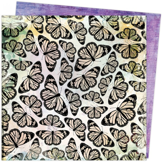 Papel Estampado Doble Cara 12x12 Color Study Vicki Boutin Pretty Things