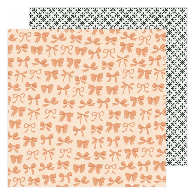 Papel Estampado Doble Cara 12x12 Garden Party Maggie Holmes Beautiful Bows