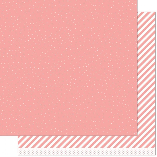 Papel Estampado Doble Cara 12x12 Let It Shine Pink