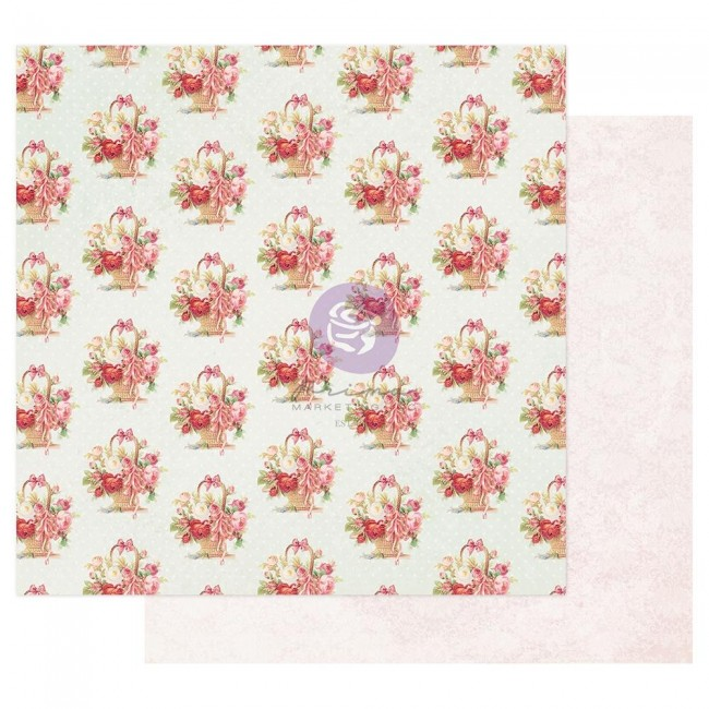 Papel Estampado Doble Cara 12x12 Magic Love By Frank Garcia Carrying All My Love