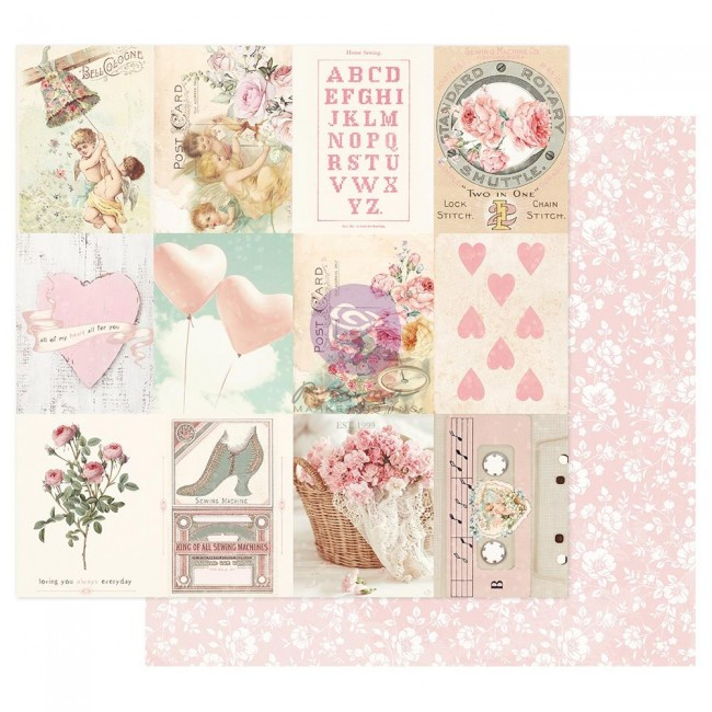 Papel Estampado Doble Cara 12x12 Magic Love By Frank Garcia Sweetness