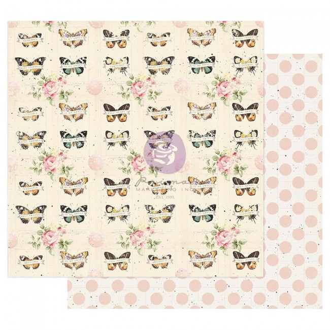 Papel Estampado Doble Cara 12x12 My Sweet By Frank Garcia Captured Memories
