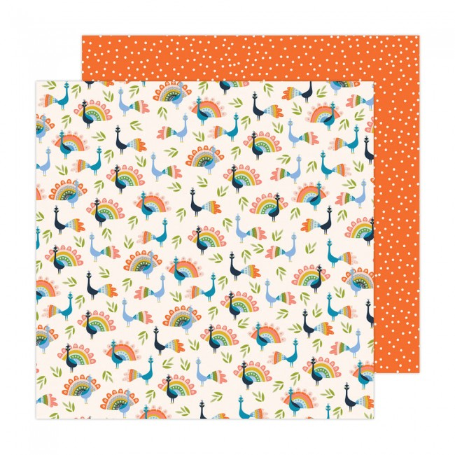 Papel Estampado Doble Cara 12x12 Reaching Out Jen Hadfield Birds Of A Feather