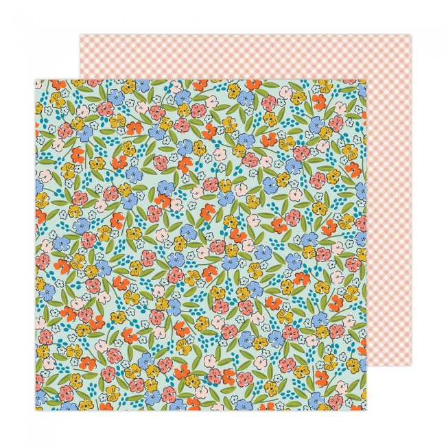 Papel Estampado Doble Cara 12x12 Reaching Out Jen Hadfield Here For You