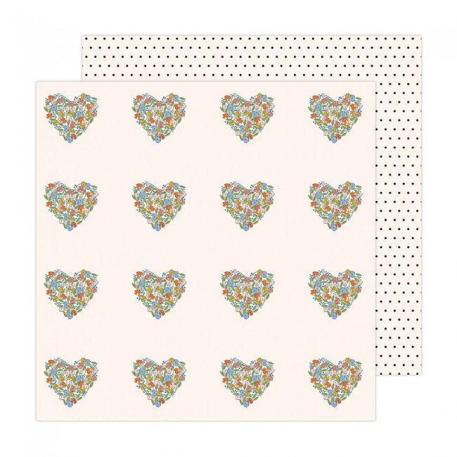 Papel Estampado Doble Cara 12x12 Reaching Out Jen Hadfield You Have My Heart