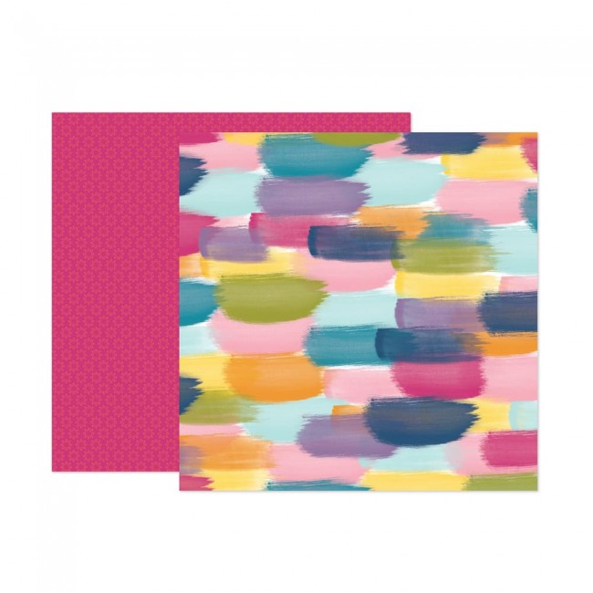 Papel Estampado Doble Cara 12x12 Wonders Paige Evans 13