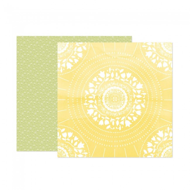 Papel Estampado Doble Cara 12x12 Wonders Paige Evans 14