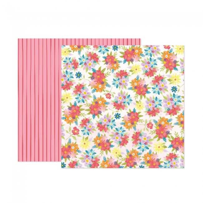 Papel Estampado Doble Cara 12x12 Wonders Paige Evans 16