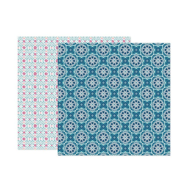 Papel Estampado Doble Cara 12x12 Wonders Paige Evans 3