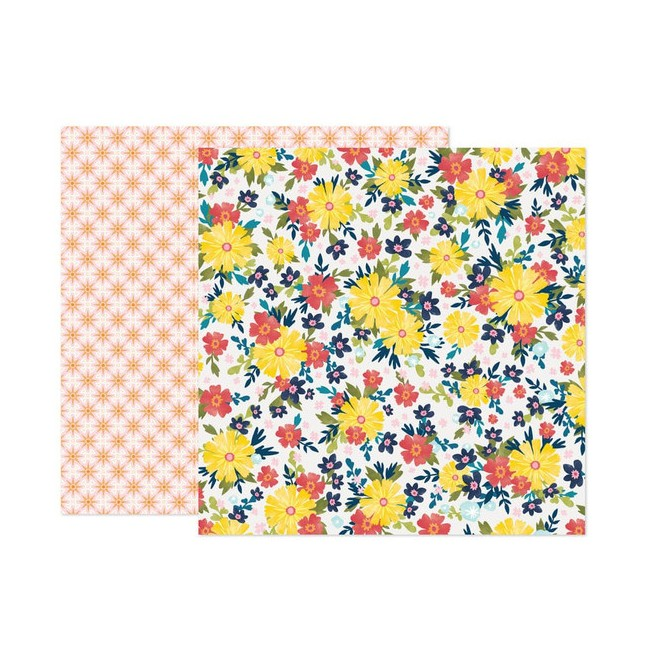 Papel Estampado Doble Cara 12x12 Wonders Paige Evans 4