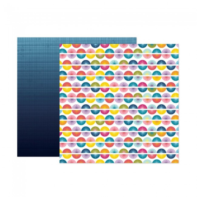 Papel Estampado Doble Cara 12x12 Wonders Paige Evans 6