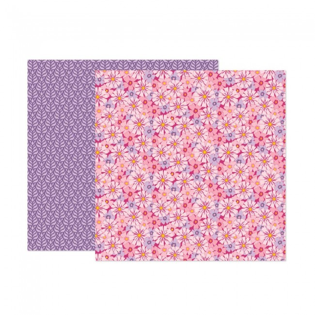Papel Estampado Doble Cara 12x12 Wonders Paige Evans 7