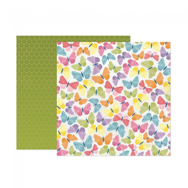 Papel Estampado Doble Cara 12x12 Wonders Paige Evans 8