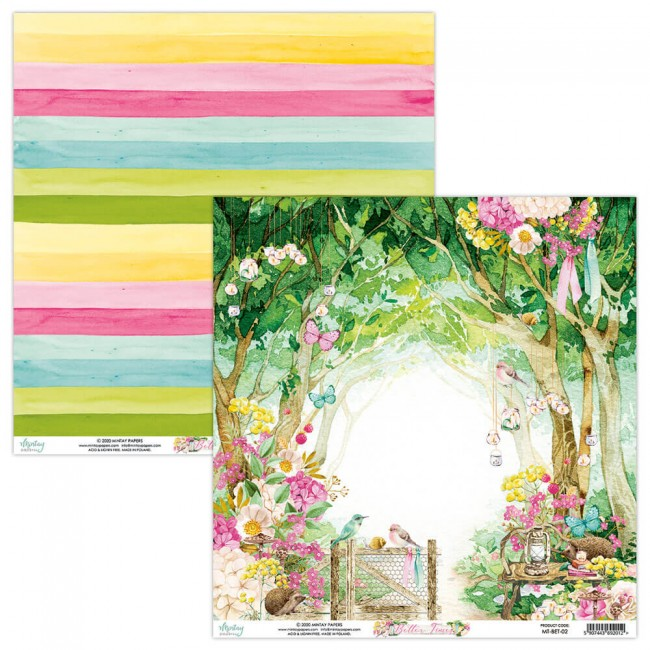 Papel Estampado Doble Cara 12x12 Better Times 2