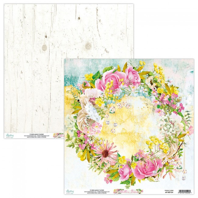 Papel Estampado Doble Cara 12x12 Better Times 4