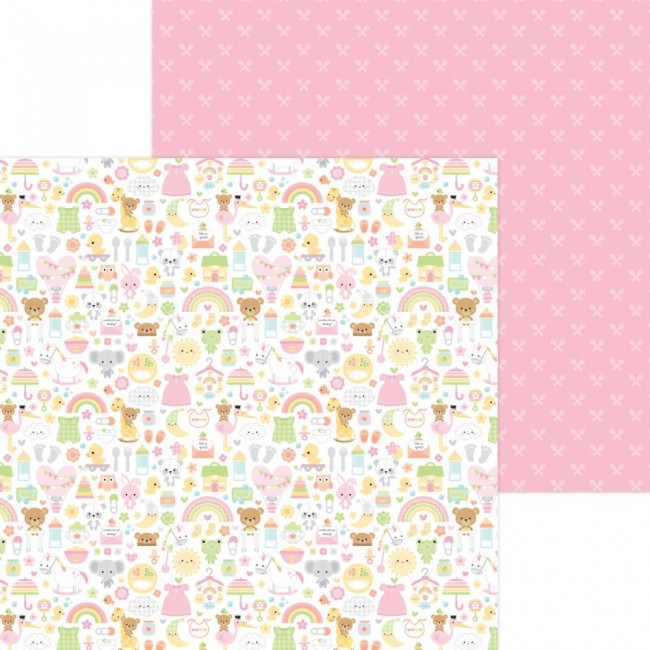 Papel Estampado Doble Cara 12x12 Bundle Of Joy DO Bundle Of Joy