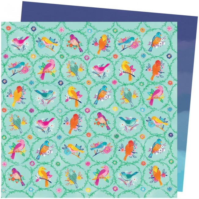 Papel Estampado Doble Cara 12x12 Go To The Scenic