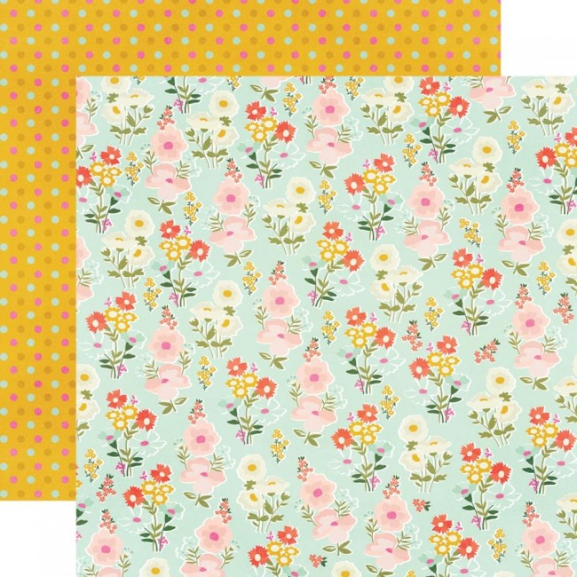 Papel Estampado Doble Cara 12x12 Kate & Ash UR Beautiful