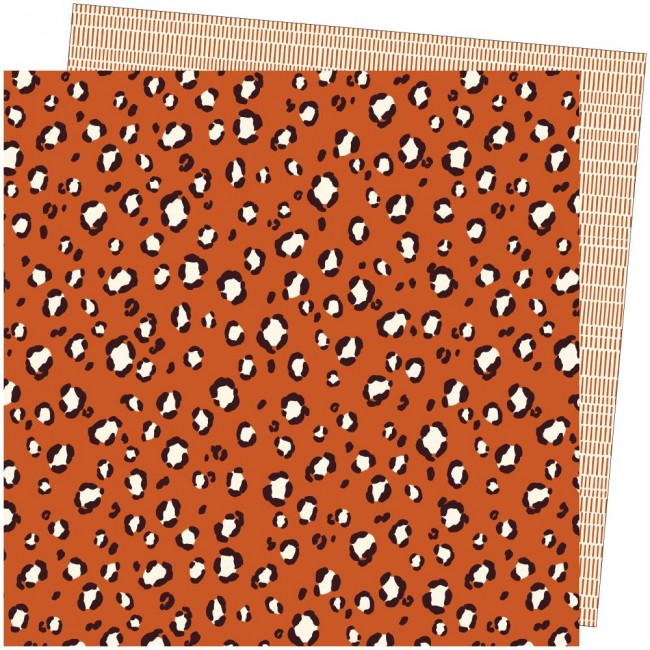 Papel Estampado Doble Cara 12x12 Late Afternoon Amy Tangerine Free Spirit