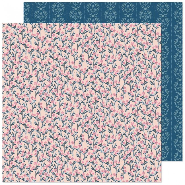 Papel Estampado Doble Cara 12x12 Marigold  Treasured