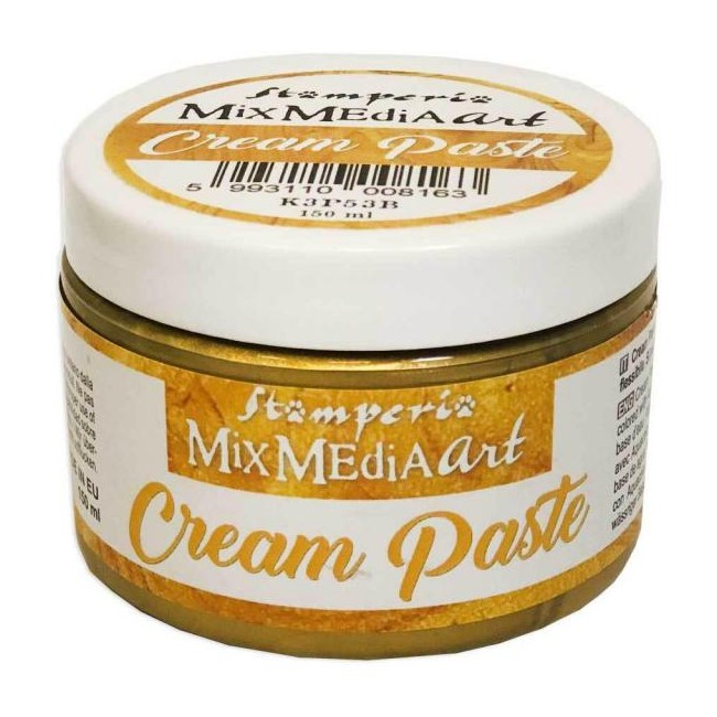 Pasta de textura Cream Paste Metallic Gold 150 ml