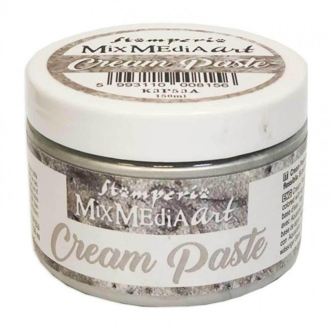 Pasta de textura Cream Paste Metallic Silver 150 ml