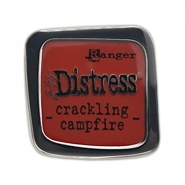 Pin Distress Ink Crackling Campfire