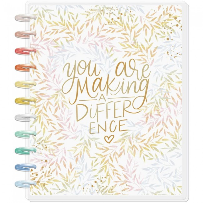 Planificador Grande Happy Planner Make A Difference (Aug 2020 July 2021)