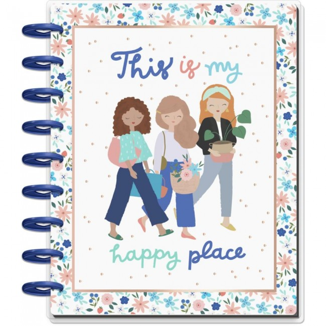 Planificador Mediano Happy Planner Happy Place (Jul 2020-Dic 2021)