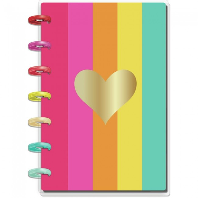 Planificador Mini Happy Planner Color Me Happy (Jul 2020 Jun 2021)