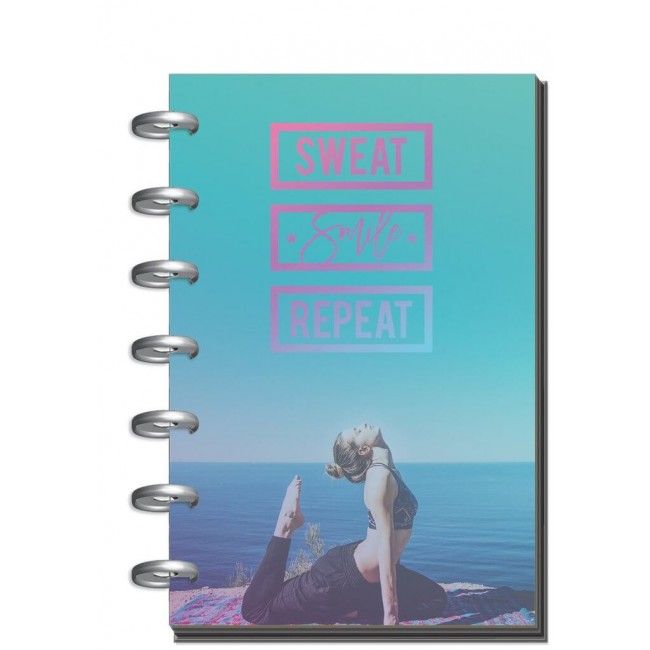 Planificador Mini Happy Planner Create 365 Sweat Smile Repeat (Perpetuo)