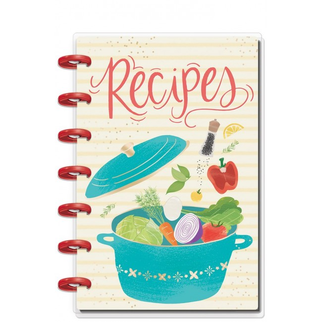 Planificador Mini Happy Planner Create 365 Recipe (Perpetuo)